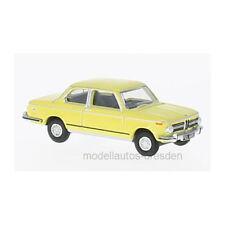 Oxford 218762 BMW 2002 jaune échelle 1:76 maquette de voiture NEUF !°