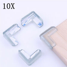 10X Soft Clear Table Desk Edge Corner Baby Safety Cushion Guard Cover US