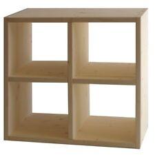 Libreria ''PRIMULA'' in legno massello di abete 150x100Hx30P