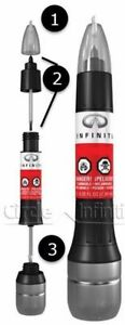 Nissan Infiniti Touch Up Paint + Clear Coat 3-in-1 Touch-Up Application New OEM