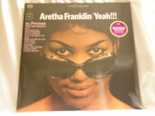 ARETHA FRANKLIN Yeah!!! In Person Teddy Harris 180 gram vinyl SEALED LP