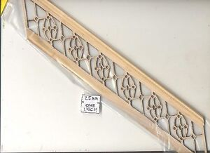"""Staircase Hand Railing fits steps # 898 for 10"""" Ceiling   1/12 scale Stairs USA"""