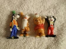 GOOFY TIGER WINNIE MICKEY MOUSE Disney TINY PORCELAIN CERAMIC VINTAGE FIGURES