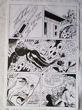 A L'ARME BLANCHE  SPECTACULAIRE PLANCHE GEANTE ELVIFRANCE  PAGE 5