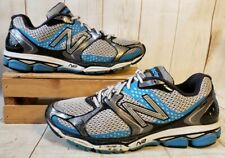 New Balance 1080v2 Gray/Blue Running Training Shoes M1080BB2 Men 9.5 D
