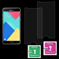 2x Samsung Galaxy A5 / 2016 / Panzerglas Schutzfolie Tempered Glass Echt Glas 9H