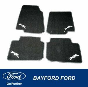 CARPET FLOOR MAT SET BLACK XR LOGO FG XR6 XR8 MK1 FALCON XR SERIES SET OF 4