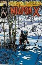 Marvel Comics Presents No.77 / 1991 Wolverine: Weapon X (Barry Windsor-Smith)