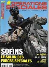 OPERATIONS SPECIALES N° 13 / SOFINS LE SALON DES FORCES SPECIALES - LE FAMAS