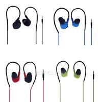 3.5mm Wired Mega Bass In-ear Sports Earphone with Mic for iPhone Android E0Xc