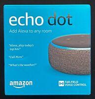 Amazon Echo Dot (3rd Gen) Smart Speaker with Alexa Charcoal BRAND NEW UNOPENED