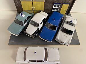 Corgi Vanguards Job Lot Police Cars