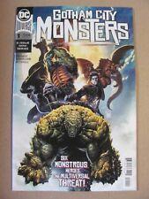 Gotham City Monsters #1 DC Universe 2019 Series 9.6 Near Mint+