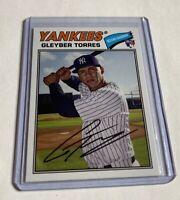 B1,585 - 2018 Topps Archives #164 Gleyber Torres Rookie Yankees