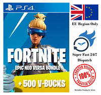 Fortnite Neo Versa Bundle Code + 500 V Bucks PS4 EU - Super Fast Dispatch