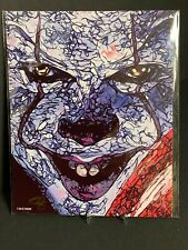 IT 2 Pennywise THE CLOWN Bam Box Exclusive Art Print Signed by artist Sam Zalch