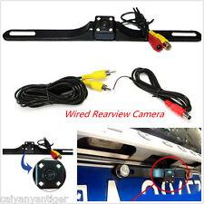 Car Reversing Backup Parking License Plate Rear View Camera IR Night Vision Cam