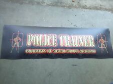 police trainer arcade marquee #2