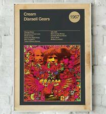 More details for cream album print, disraeli gears print, eric clapton print, wall art, rock band