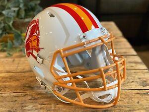 WARREN SAPP Edition TAMPA BAY BUCCANEERS Riddell Speed AUTHENTIC Football Helmet