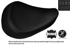 GREY DS STICH CUSTOM FITS HONDA SHADOW VT 125 99-07 FRONT LEATHER SEAT COVER