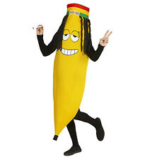 RASTA RASTAFARIAN BANANA NOVELTY UNISEX FANCY DRESS COSTUME FRUIT JAMAICAN