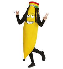 Rasta rastafariana Banana Novità Unisex Costume FRUTTA jamican