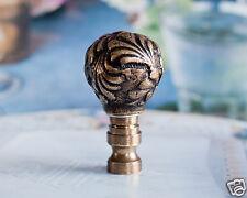 1 of Dark Bronze Metal Lamp Shade Finial Topper