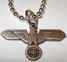 German Eagle Sniper Scope WW2 Antique Replica Pendant Necklace Charm w/chain