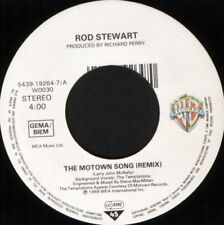 "ROD STEWART & TEMPTATIONS the motown song 7"" WS EX/ noc"