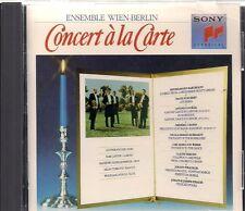 CONCERT A LA CARTE (CD, Sony Music Distribution)
