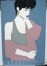 PATRICK NAGEL EXHIBITION NC10 MIRAGE EDITION SERIGRAPH