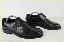 Derby to Loops TED LAPIDUS All Leather Black T 40 VERY GOOD CONDITION
