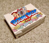 Vintage 1986 Topps BOOM BOX Candy Display Box bubble gum container Ghettoblaster