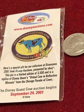 1 Disney Pin D Auctions Ebay Parade Chicago of Cows New on Card As Seen lot3