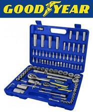 "GOODYEAR 94 PC Socket Set 1/2"" & 1/4"" Presa & Cacciavite Bit Tool Set"