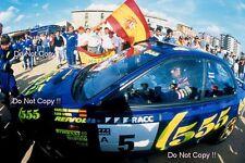 CARLOS SAINZ SUBARU IMPREZA 555 WINNER CATALUNYA RALLY 1995 fotografia 1