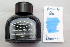 Diamine 80ml Fountain Pen Bottled Ink Presidential Blue