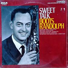 BOOTS RANDOLPH - SWEET TALK - RCA CAMDEN - 1965 LP - STILL SEALED