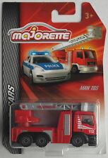 Majorette - MAN TGS Feuerwehr Drehleiter Neu/OVP