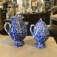 Versatoi Bummuli in Ceramica di Caltagirone decorate a mano