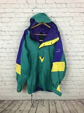 Vintage The North Face Extreme Gear Bright Teal PurpcJacket Size Men's XL EUC