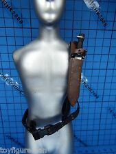 Hot Toys 1:6 Biohazard 5 VGM09 Chris Redfield Star Ver. Figure - Belt w/kinfe