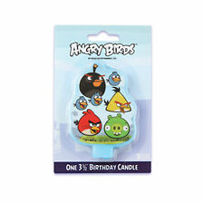 Angry Birds Candle Birthday Cake Topper Party Favors Supplies