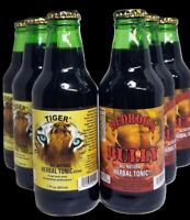 Zion Brand Herbal Tonic variety 6-pack - Tiger and Bedroom Bully - 7 OZ each