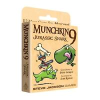 Munchkin 9: Jurassic Snark 112 Card Game Expansion Steve Jackson Games Booster