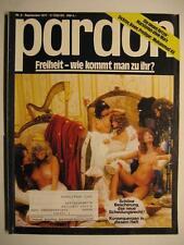 PARDON 1977 NR. 9 SEPTEMBER - PARODIE - SATIRE