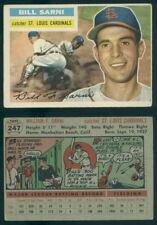 (56666) 1956 Topps 247 Bill Sarni Cardinals-VGX
