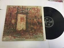 Black Sabbath Mob Rules, francés, primer prensado, 1981, 6302119 Vinilo Lp M -/M -