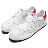 New Balance CRT300LD D Leather White Red Men Court Shoes Sneakers CRT300LDD